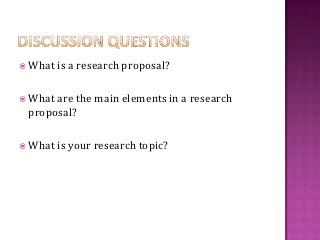 Writing A Research Proposal  Research Paper    Proposals