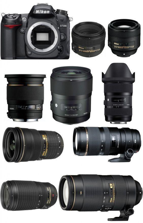 Best Lenses for Nikon D7000/D300S #cameralens   Camara fotografica ...