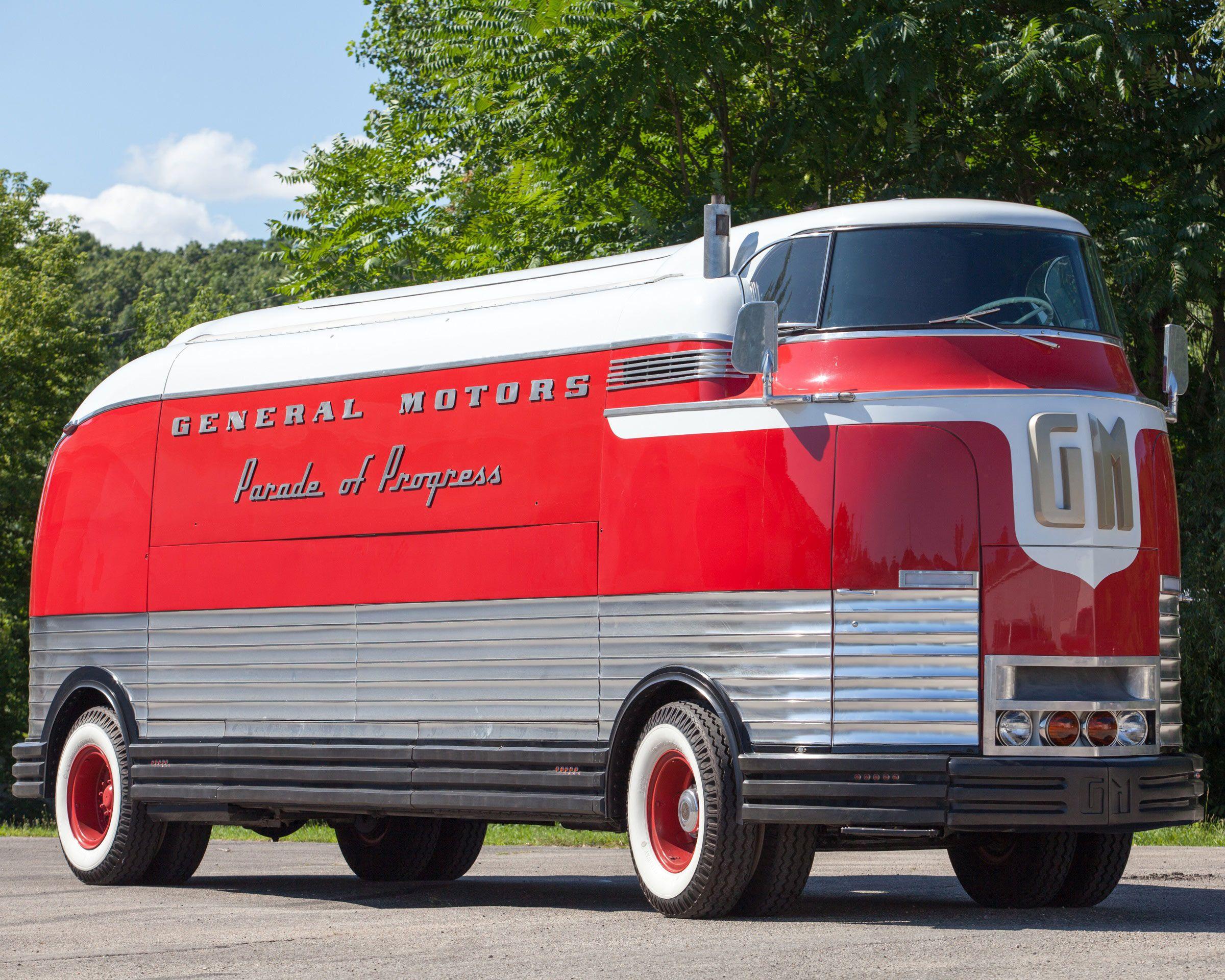 You Think The Zeppelin Roadliner Is Cool Take A Look At 1939 Gm Windsor Caravan Wiring Diagram Futurliner