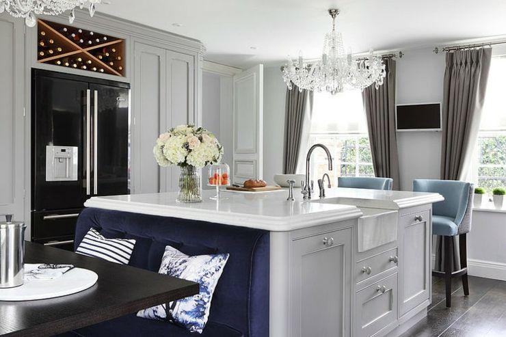 Belle maison à l\'intérieur design « so british » | Maisons ...