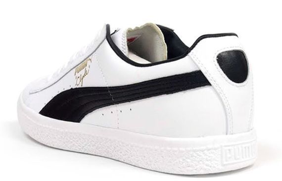 newest 3918f 8aad6 Puma Clyde Leather FS - White - Black | What's On My Feet ...