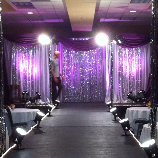 Fashion show runway pinks purples pinterest for Stage 47 designhotel