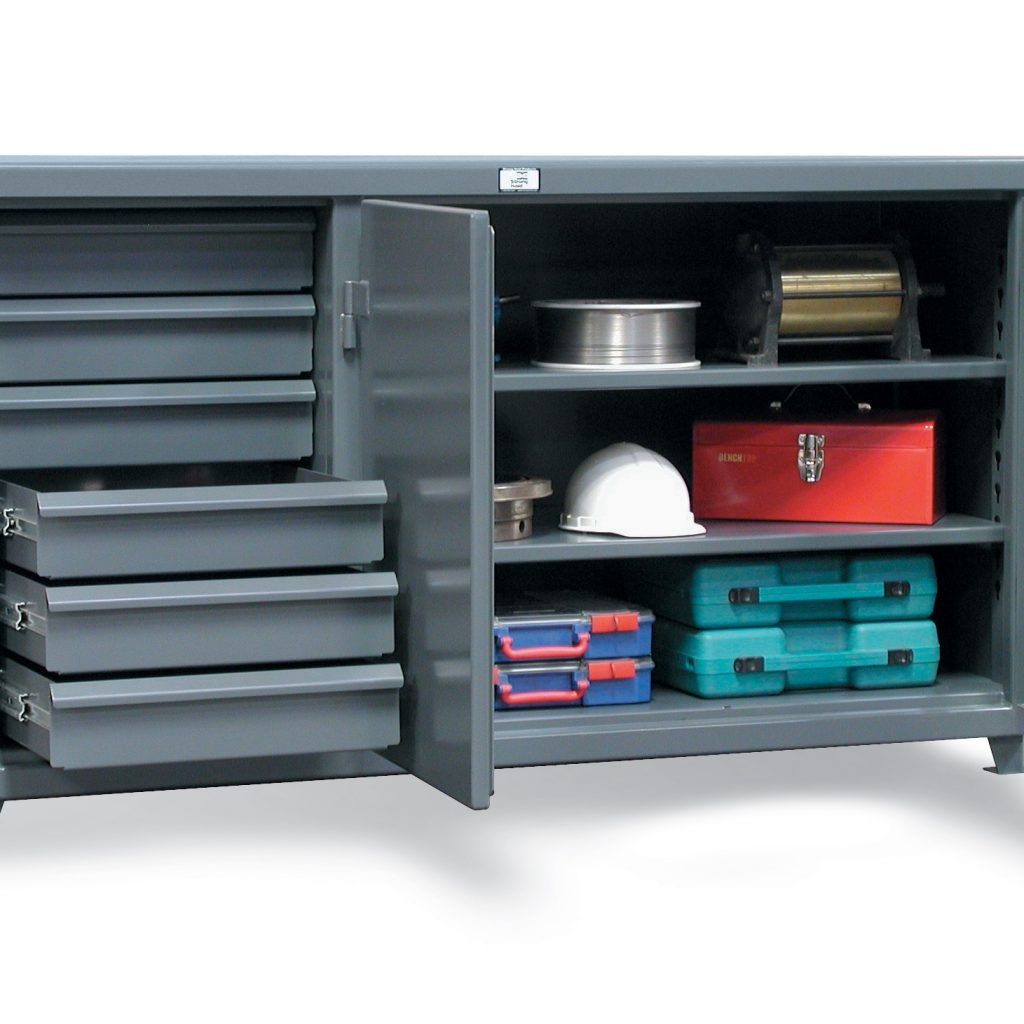duty tools metal dp heavy co amazon workbench top cabinets with diy drawers uk steel
