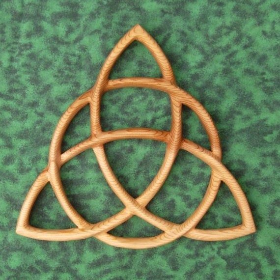 Wiccan Symbols For Protection Wood Carving Celtic Goddess