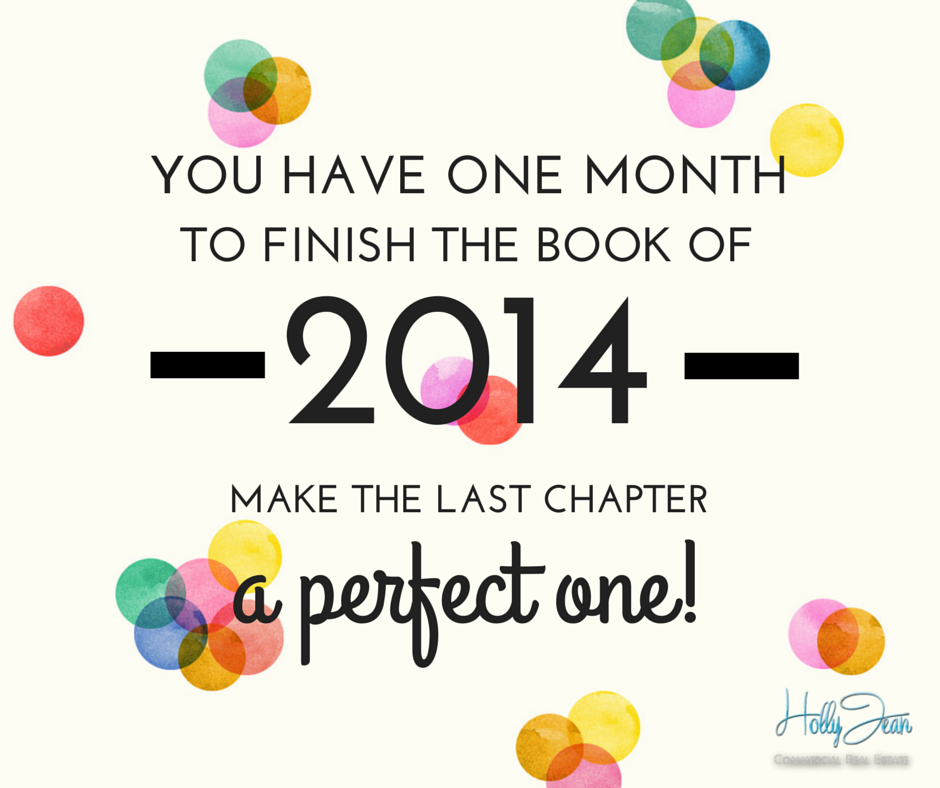End your business year right! Make December a perfect month on the books   Biz Tip