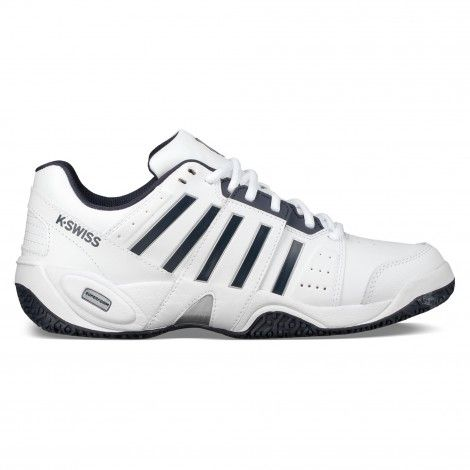 newest 17939 5faf5 K-Swiss Accomplish III Omni 05615 tennisschoenen heren white navy