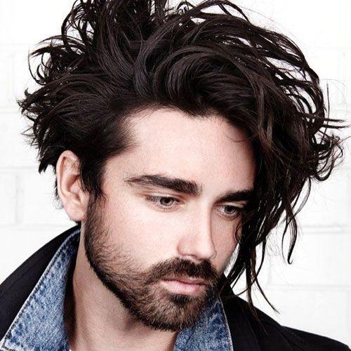 Men With Long Hair 2018 Hair Pinterest Lange Haare Haare 2018
