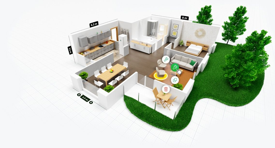 Design your dream home effortlessly and have fun. An