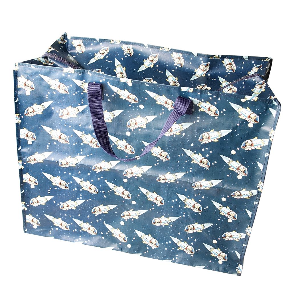 Spaceboy Design Jumbo Storage Bag Dotcomgiftshop Bag Storage Woven Bag Bags