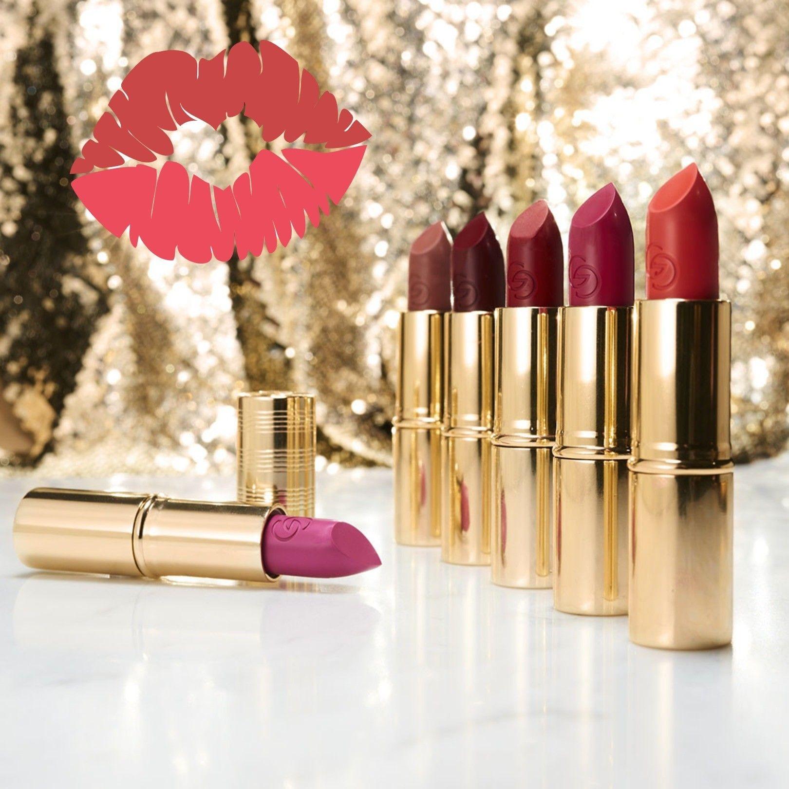 The Iconic Metallic Matte Lipstick leaves a creamy matte