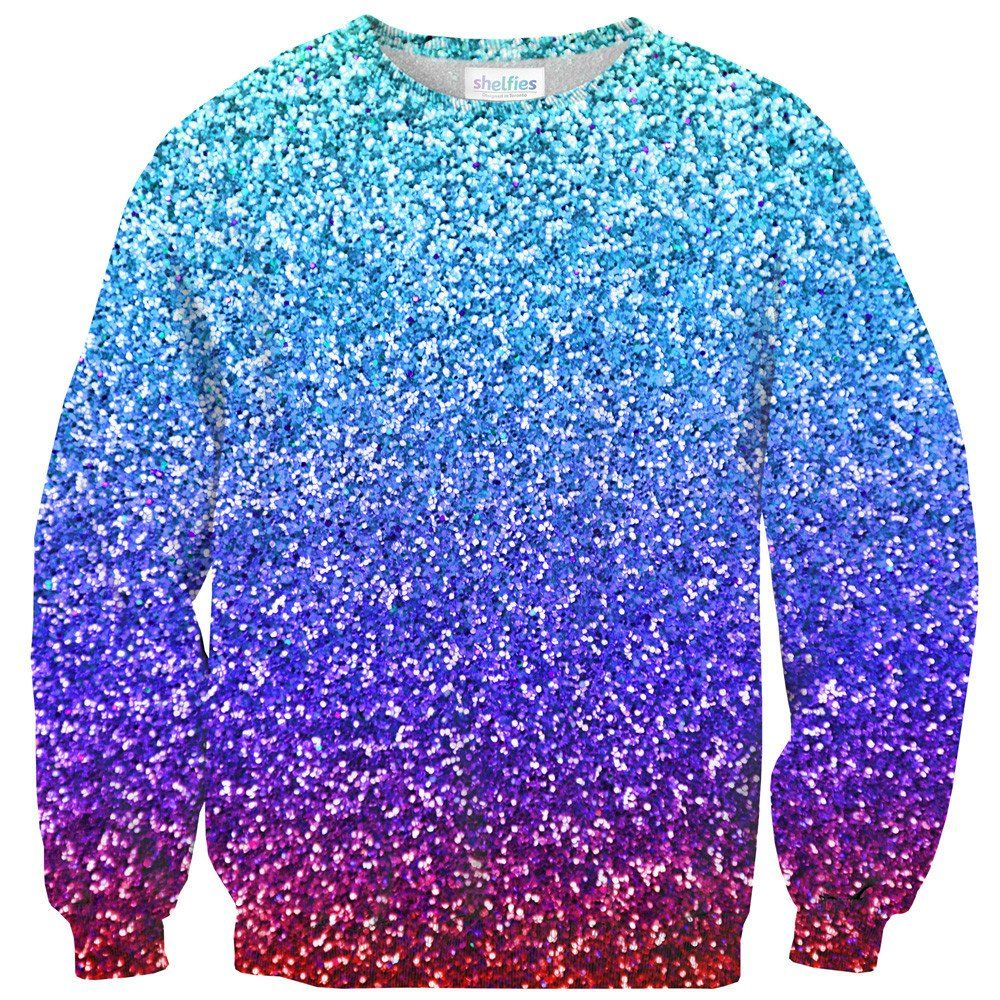 Party Glitter Sweater | Sweatshirt, Clothes and School outfits