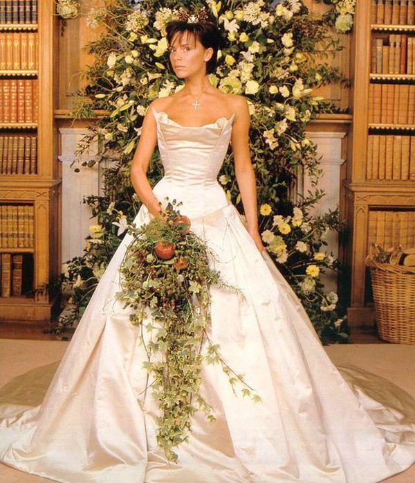victoria beckham wedding dress - brides of adeladie