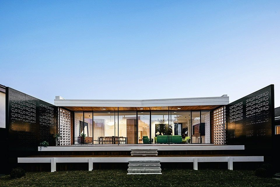 The Writers House Architecture, 1960s house, Australian