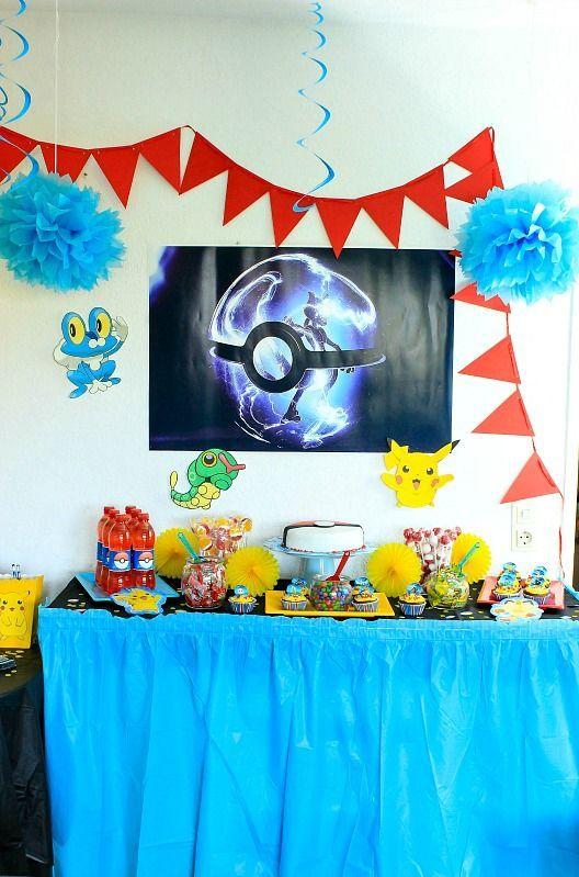 pokemon mottoparty sasibella der foodblog mit vielen partyideen feiern pokemon mottoparty. Black Bedroom Furniture Sets. Home Design Ideas