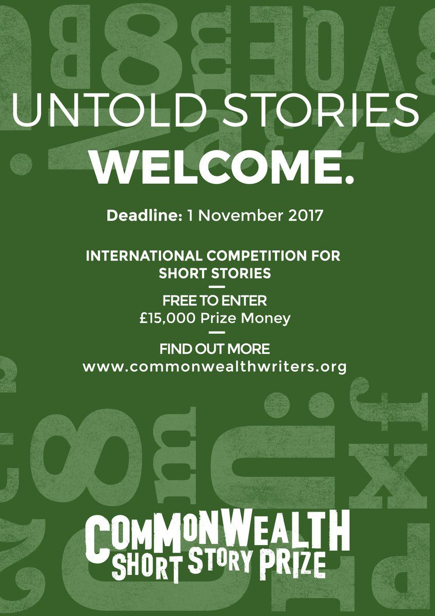 Short story prizes 2018