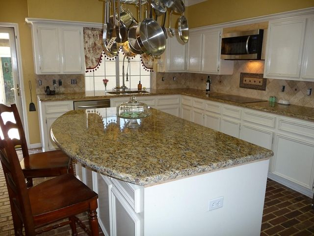 Santa Cecilia Backsplash Ideas Part - 47: Santa Cecilia Granite Countertops Going In Kids Bathrooms And Lower Level  Bathroom