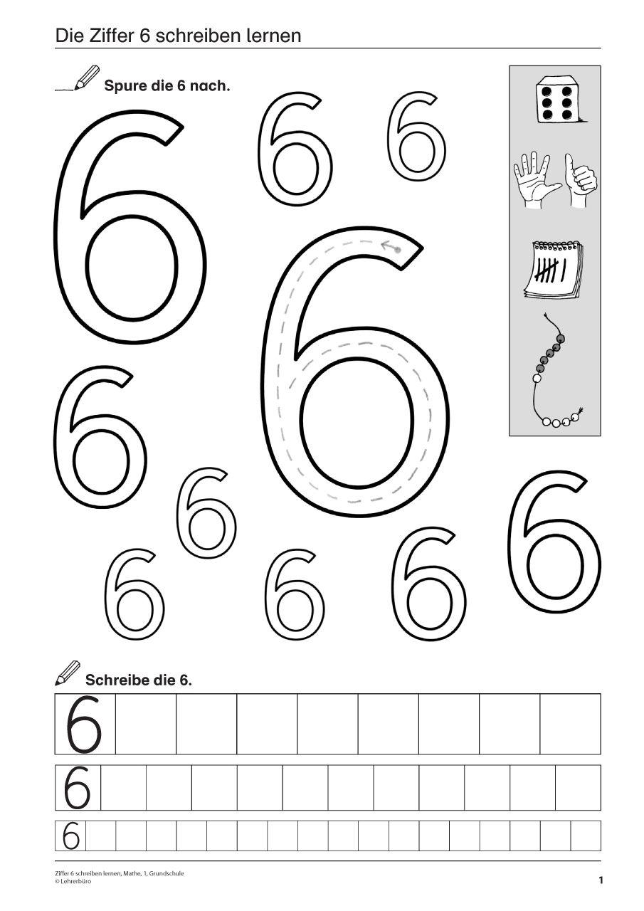 Zahlen kennenlernen grundschule