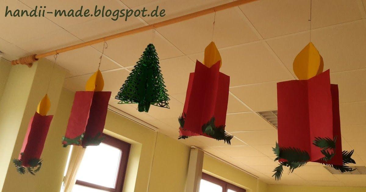 Kerzen basteln, Basteln im Advent, einfach, leicht, Weihnachtsbilder, DIY, Basteln mit Kindern, Weihnachtsbasteln, Kindergarten, Grundschule, Förderschule, #weihnachtsdekobastelnmitkindern