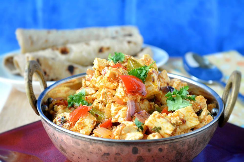 kadai paneer recipe paneer recipes recipes indian food recipes on hebbar s kitchen kadai paneer id=81014