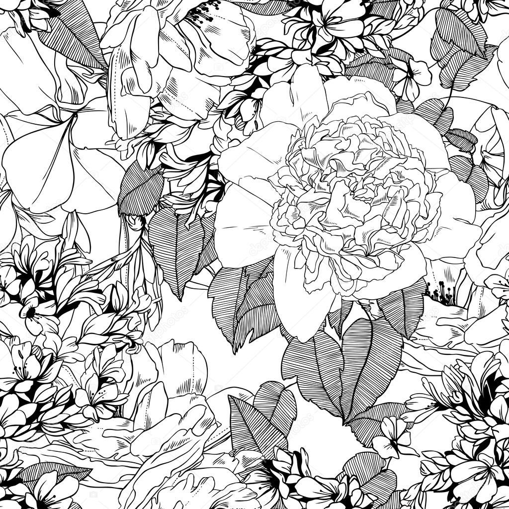 Image result for peonies or dalia pyro patterns pinterest