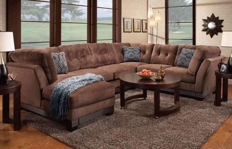 Stupendous Wrap Around Couch With Round Table Home Furniture Luxury Spiritservingveterans Wood Chair Design Ideas Spiritservingveteransorg