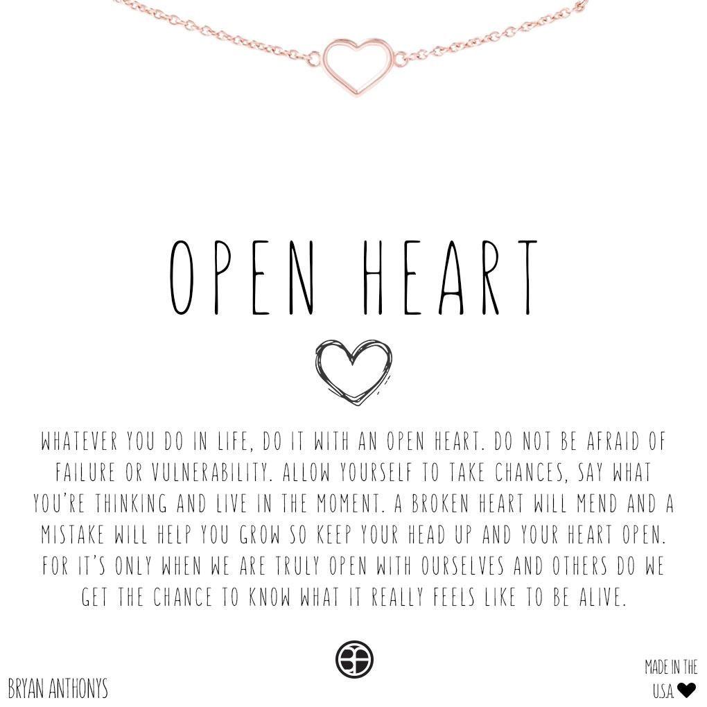 f16aa4c1da74f Open Heart Choker | Happy | Heart choker, Heart bracelet, Open heart ...