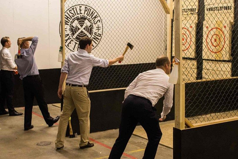 Image result for Axe Throwing Bar