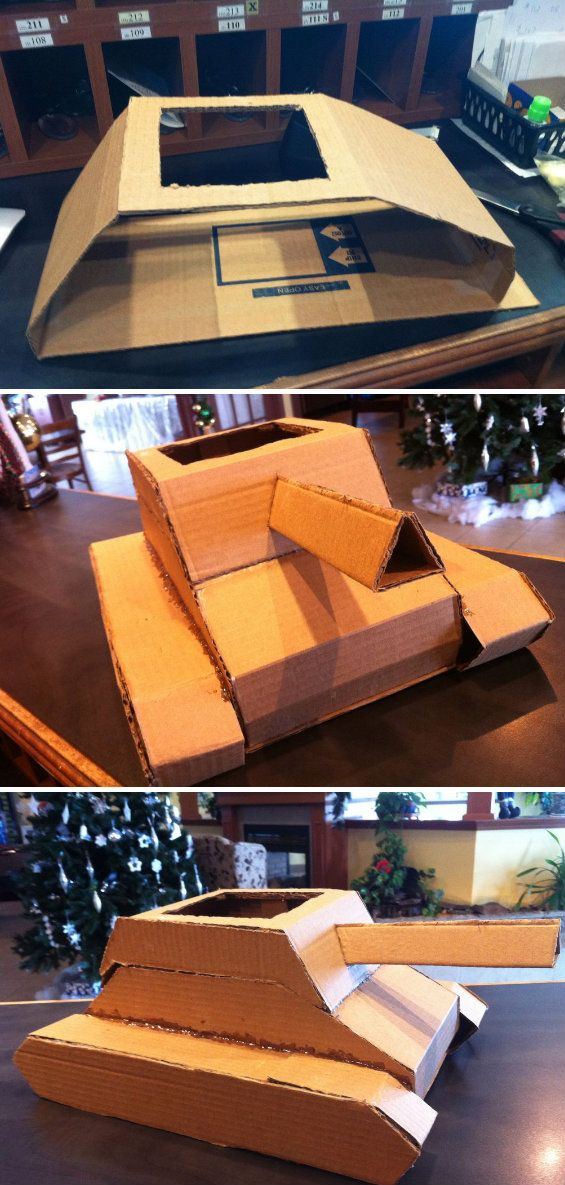 cardboard box tank crafts tips and diy valentine box cardboard