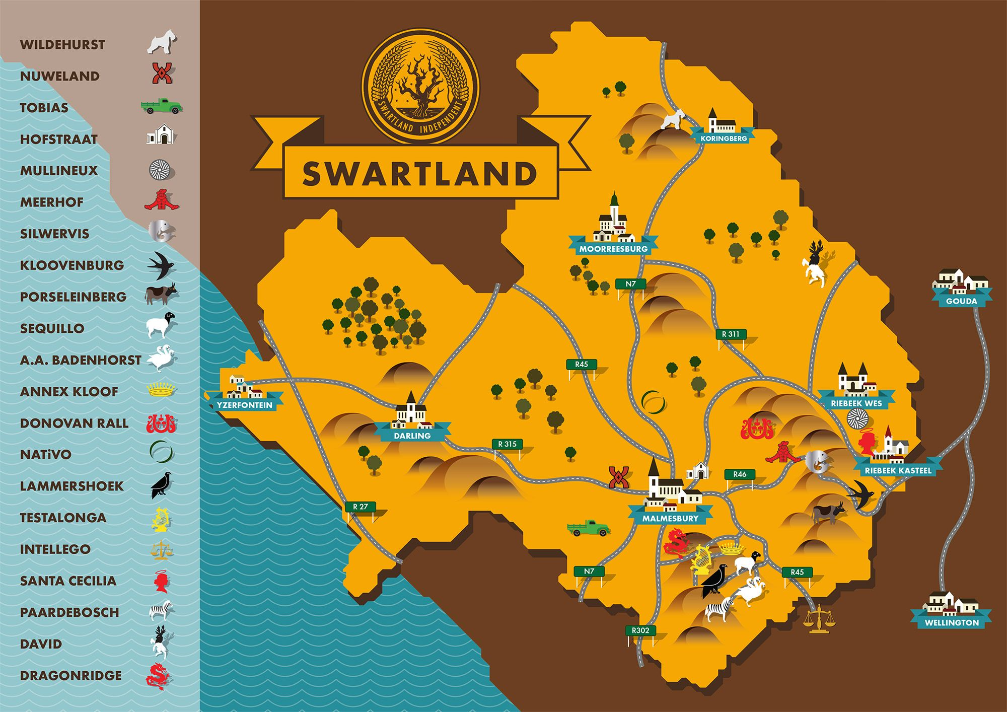 Camping Winkel Gouda Pin By Nicole Fenner On Design South African Wine Map Wines