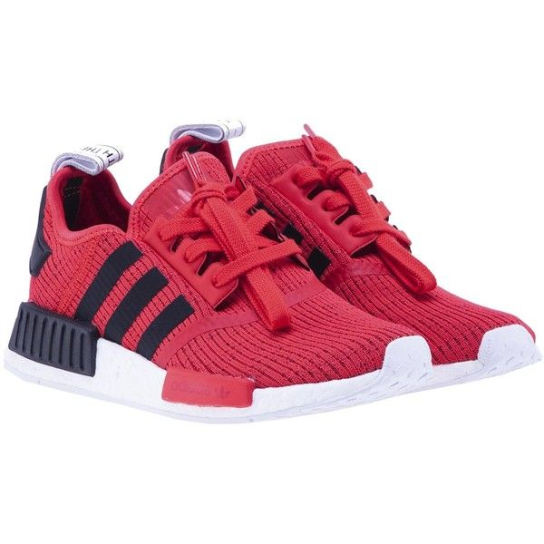 nmd_r1 Sneakers (\u20ac130) ? liked on Polyvore featuring shoes, sneakers, red � Adidas  Original ...