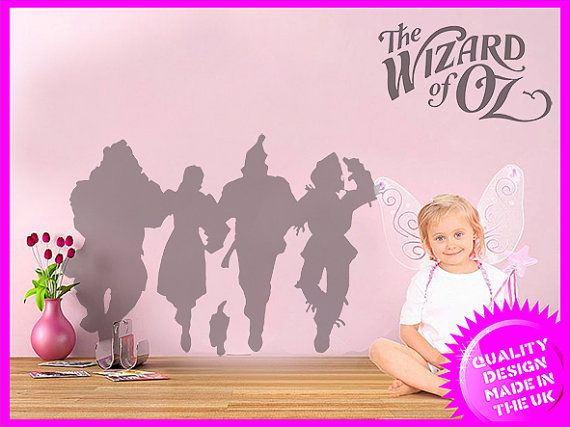 The Wonderful Wizard of Oz Dorothy wall frieze vinyl wall decal  sc 1 st  Pinterest & The Wonderful Wizard of Oz Dorothy wall frieze vinyl wall decal ...