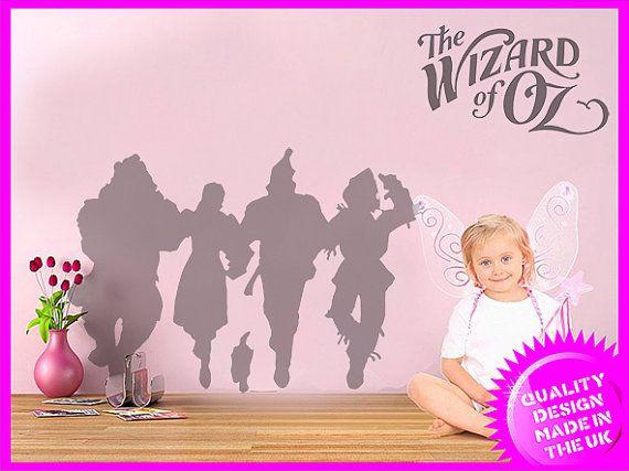 The Wonderful Wizard Of Oz Dorothy U0026 Toto Wall Frieze Vinyl Wall Decal  Size: