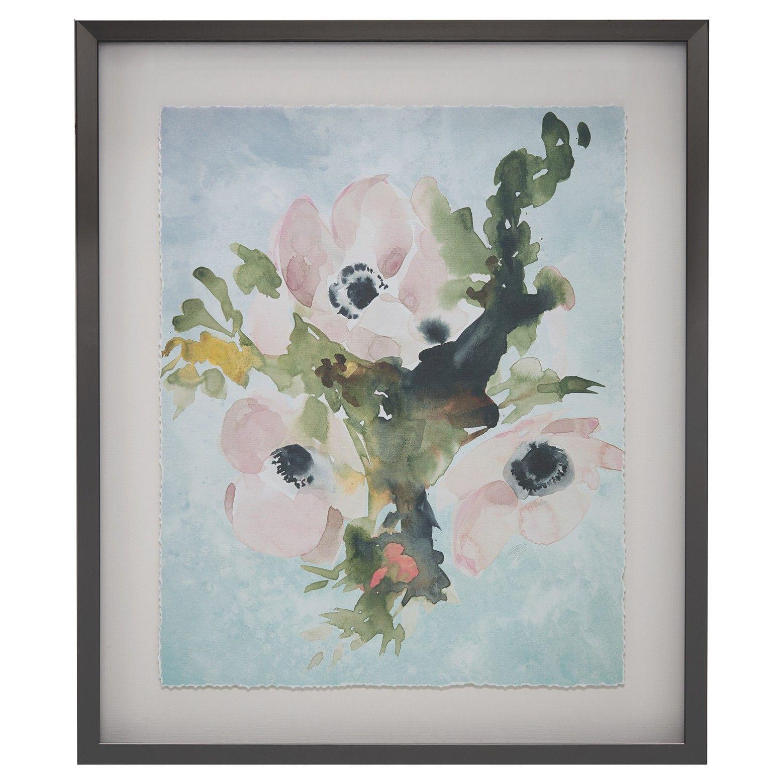 Winter Bouquet 1 Frame Art Canvas Is A Fresh Floral Arrangement In