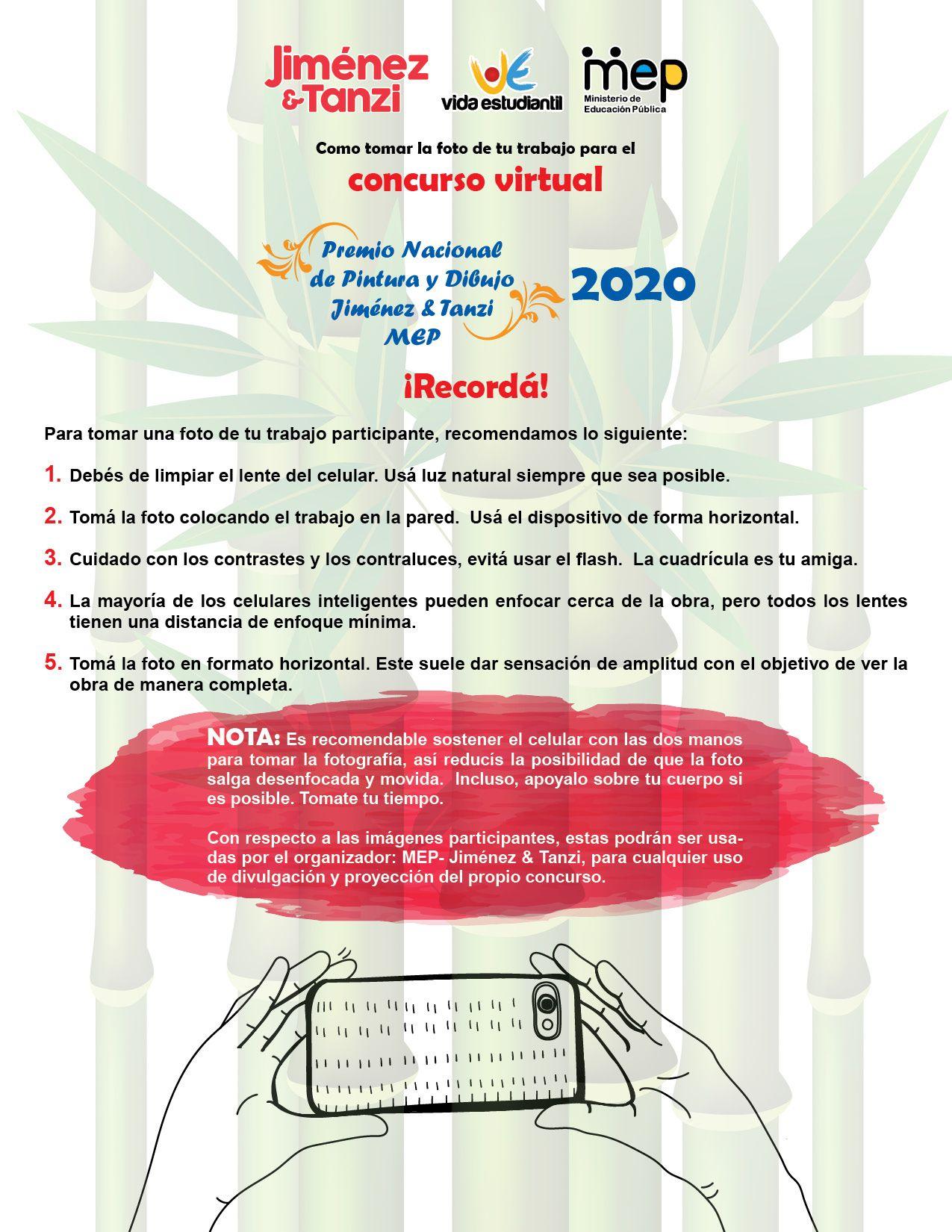 Recomendaciones Concurso De Pintura Y Dibujo Ministerio De Educacion Plan Nacional De Desarrollo Estudiantes De Secundaria