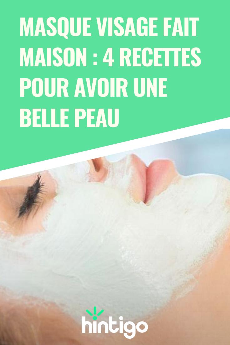 Masque visage fait maison : des recettes pour avoir une belle peau | Masque visage fait maison ...