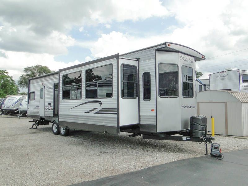 2019 Forest River Wildwood Lodge 393flt Travel Trailers Rv For