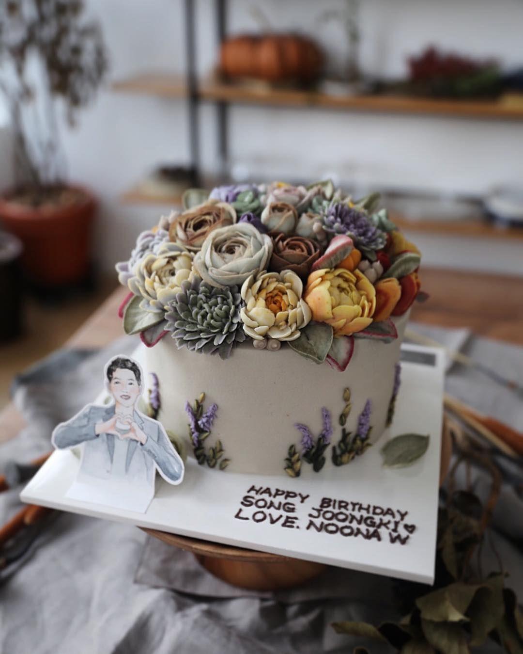 """Instagram 上的 Flowercakes & Korean Desserts:「 """" Dearest"""
