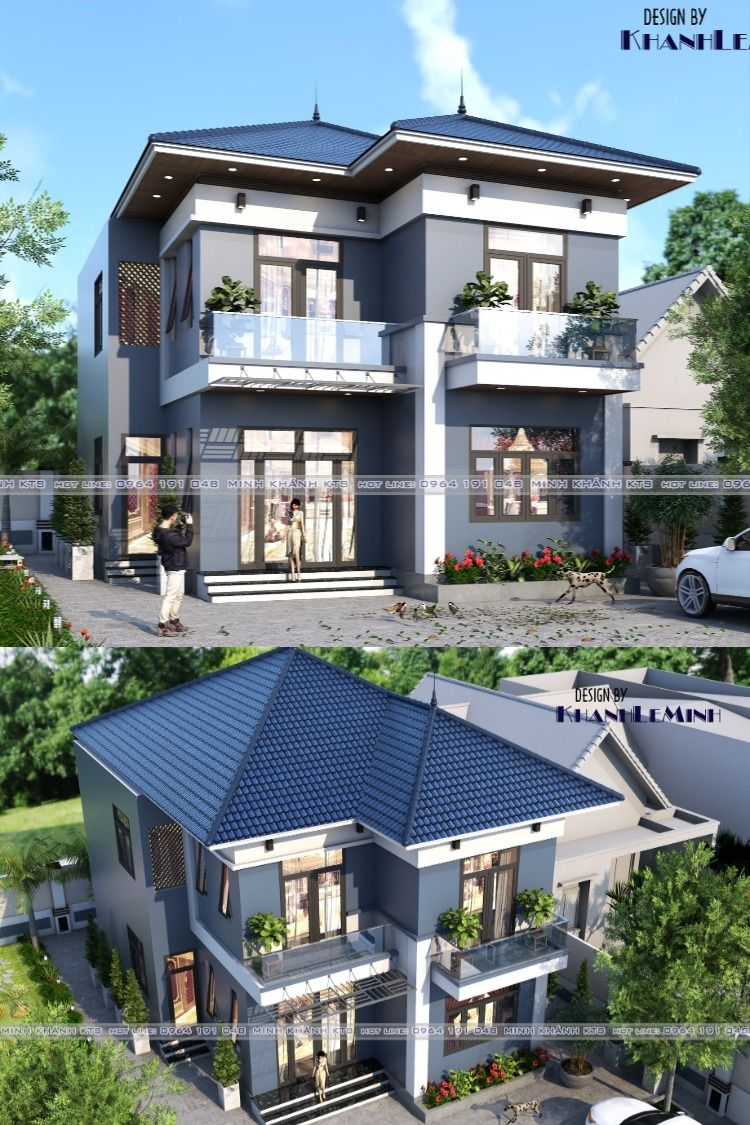 97. House Free Sketchup Exterior Scene in 2020 House