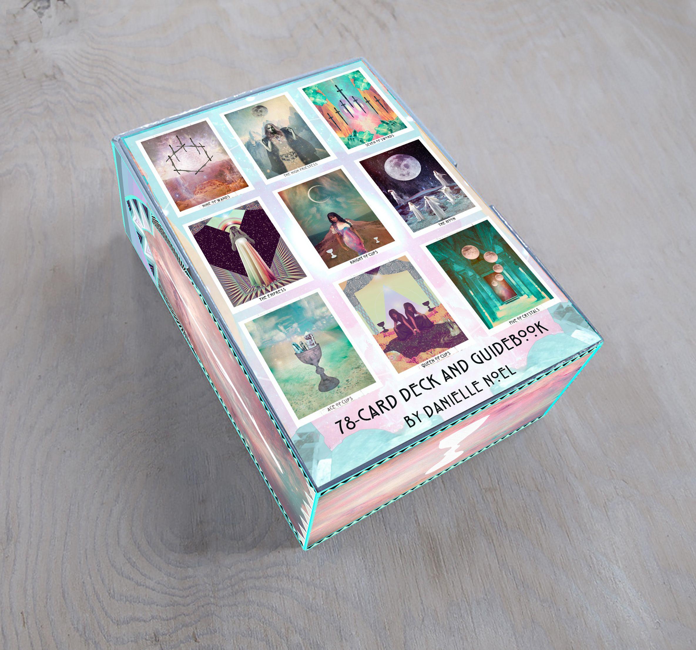 The back of the box   tarot   Tarot, Tarot decks, Oracle cards