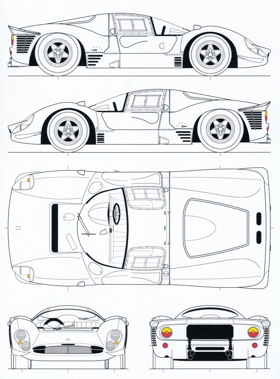 Ferrari 330p 412p4