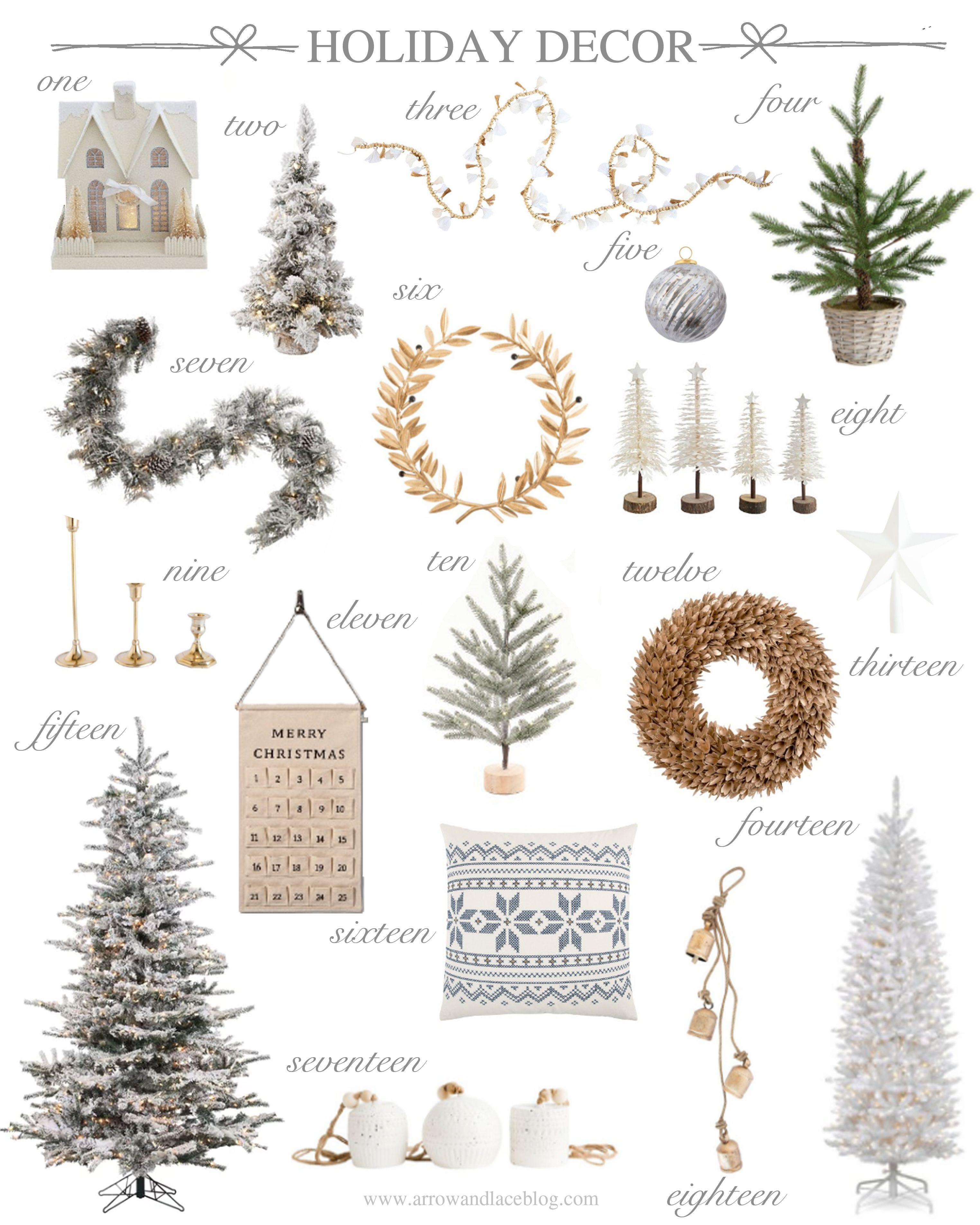 Holiday Christmas Trends 2019.2018 Holiday Christmas Decorations Trends Holidays White