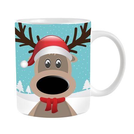 Christmas Colour Changing Reindeer Mug