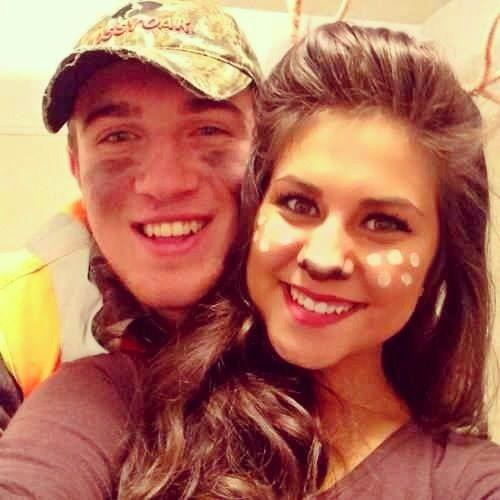 Hunter and Deer DIY couple costume | celebrate! | Pinterest | Diy ...
