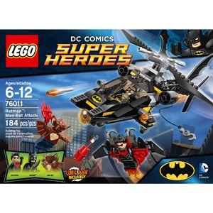 76011 LEGO BATMAN Man-Bat attack BATCOPTER