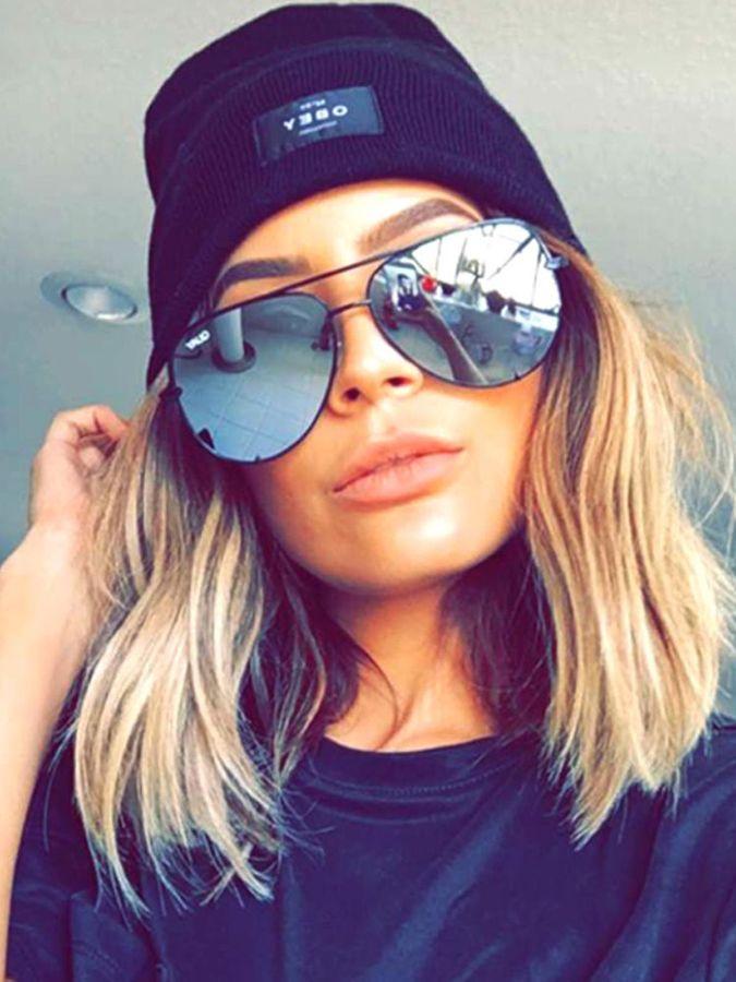 554e3f429a61 Quay Eyeware Quay x Desi Perkins High Key Sunglasses as seen on Desi and  Kylie Jenner