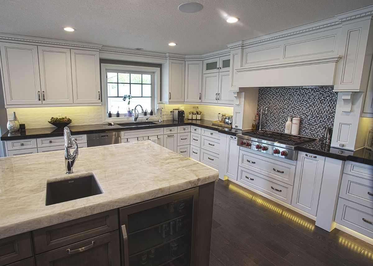 Alair Homes Edmonton Rebuild The Kitchen Features Thick