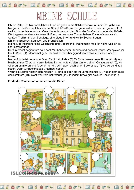 meine schule deutsch lernen deutsch unterricht deutsch lernen und schule. Black Bedroom Furniture Sets. Home Design Ideas