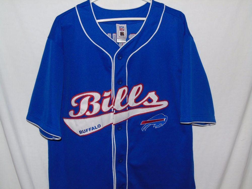 buffalo bills baseball jersey