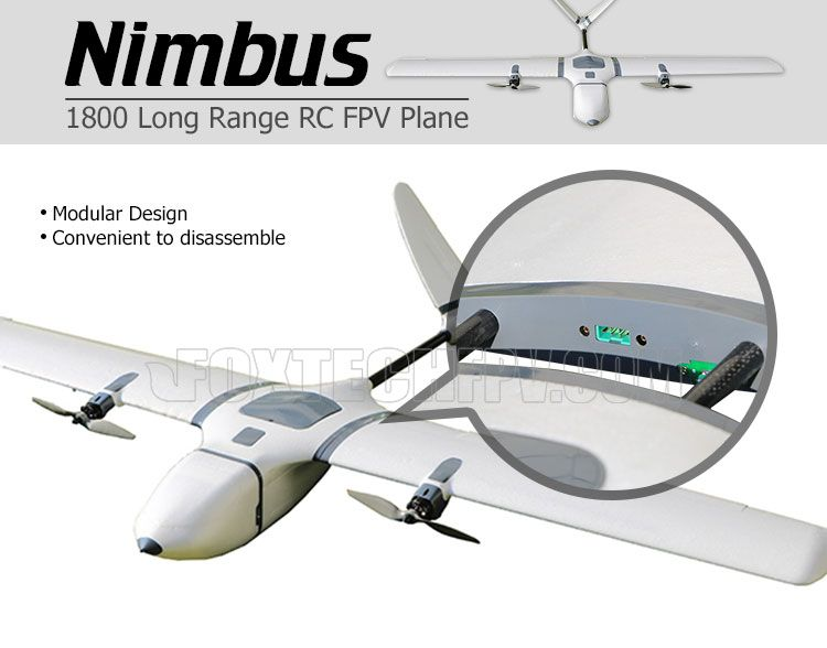 Nimbus 1800 Long Range RC FPV Plane | Robots, droids