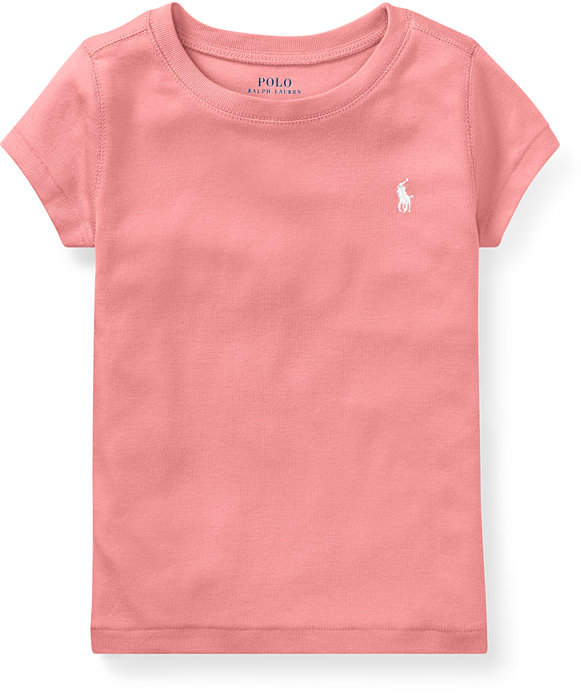 Ralph Neck Polo 2019 Lauren Toddler Girls Crew ShirtPolos T In K3uTJ5lF1c